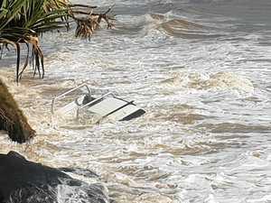 Mammoth tide swallows first Mudlo Rocks victim