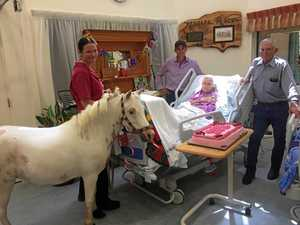 No horsing around for 106-year-old Hilda