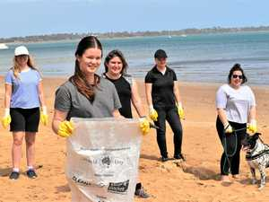 CONSERVATION: Help students rid Torquay Beach of rubbish