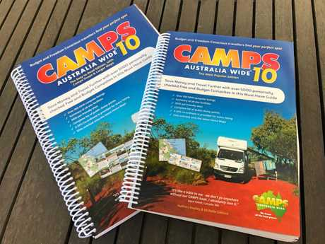 Camps Australia Wide has just released version 10 of its ever-popular travel guide.