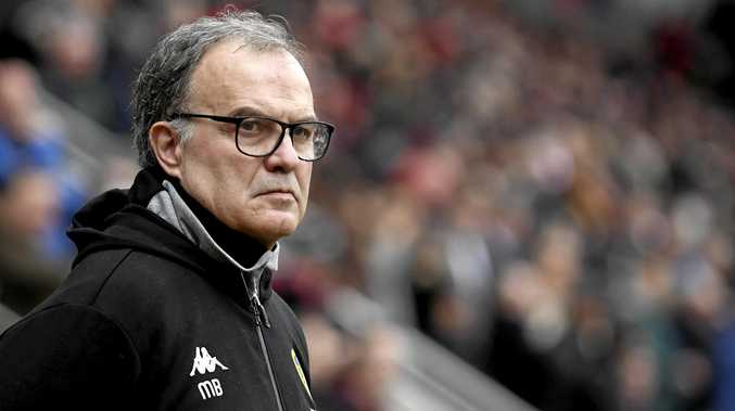 Leeds manager Marcelo Bielsa is unlikely to spy on rival teams anymore. Picture: George Wood/Getty Images
