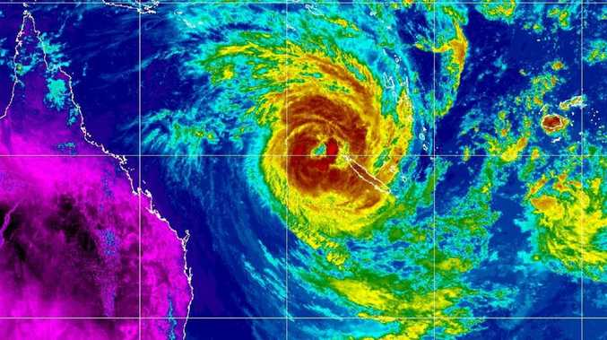 Cyclone Oma keeps tracking our way