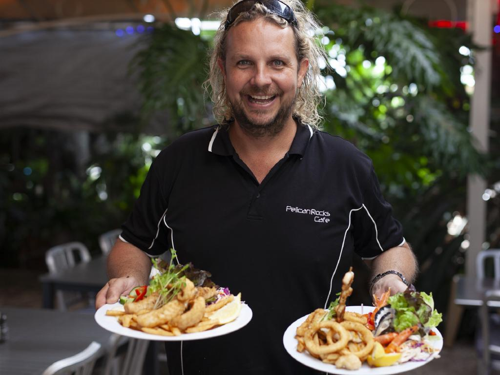 Sam Cardow, owner, Pelican Rocks Fish and Chips, Greenwell Point