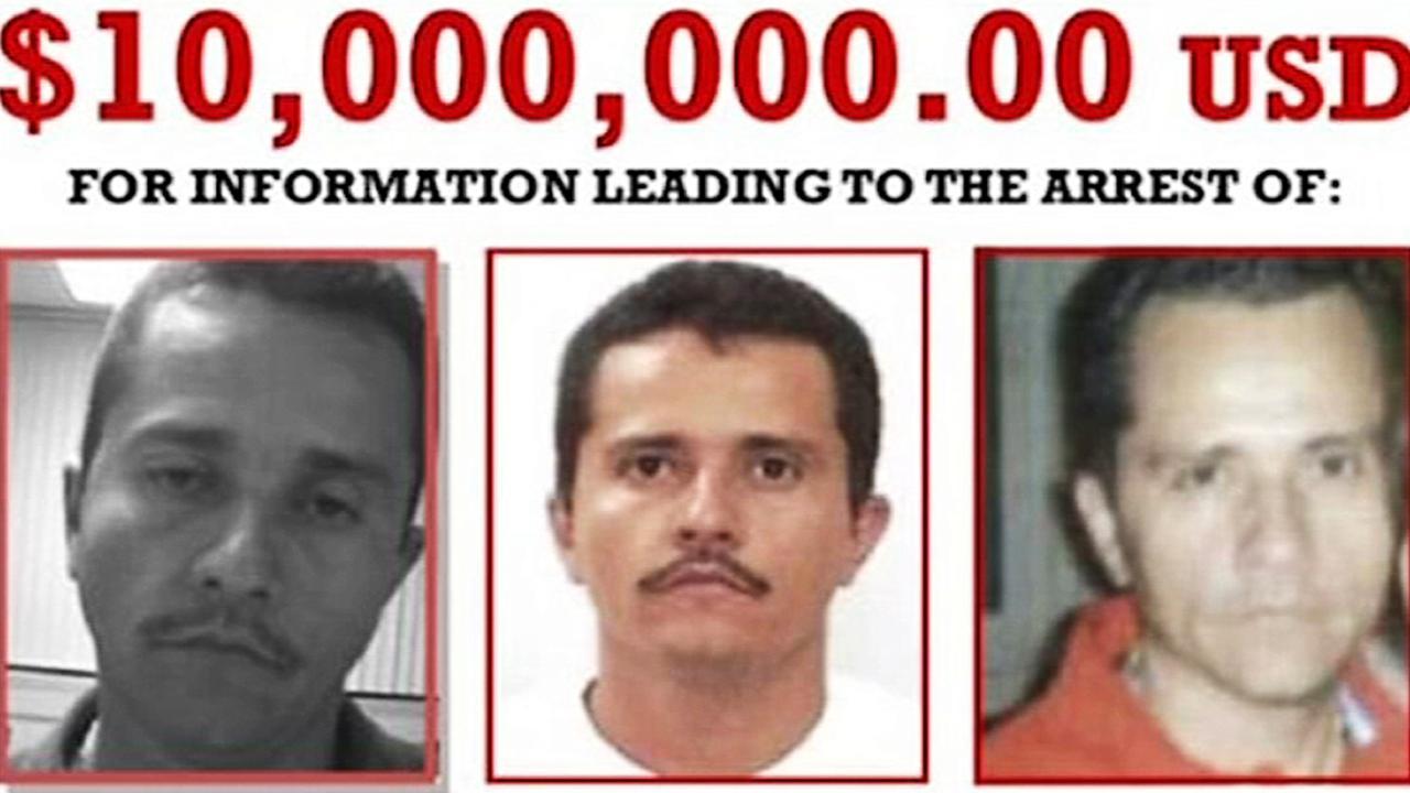 Nemesio Oseguera-Cervantes — aka El Mencho — has a $US10 million reward on his head. Picture: DEA