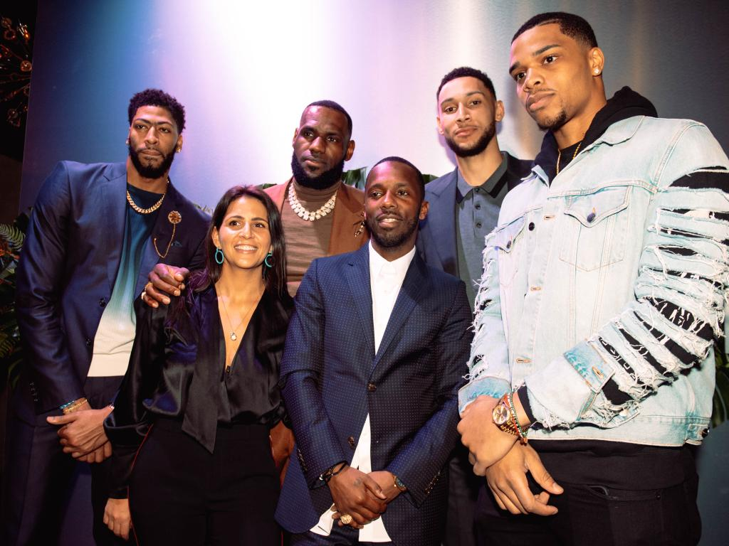 Ben Simmons rubs shoulders with some elite company during the All Star weekend.