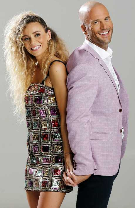 Mike Gunner and Heidi Latcham had no idea about Sam and Ines's secret relationship on Married At First Sight. (AAP Image/Josh Woning)