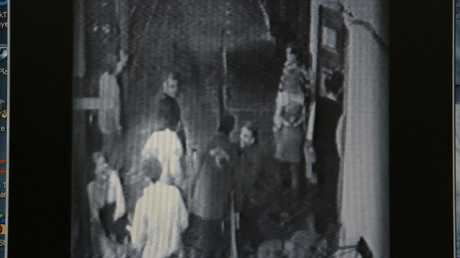CCTV footage shows Jane Rimmer outside the Continental Hotel in Claremont on the night she was murdered.