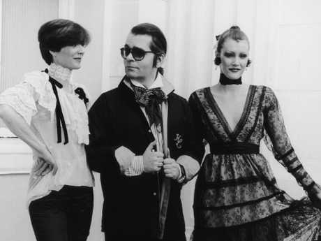 The German  fashion designer in 1984. Picture: Getty