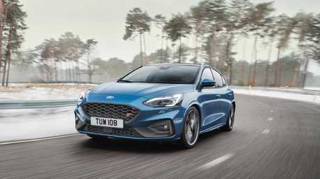 The Ford Focus ST is pitched as a competitor to the Golf GTI.