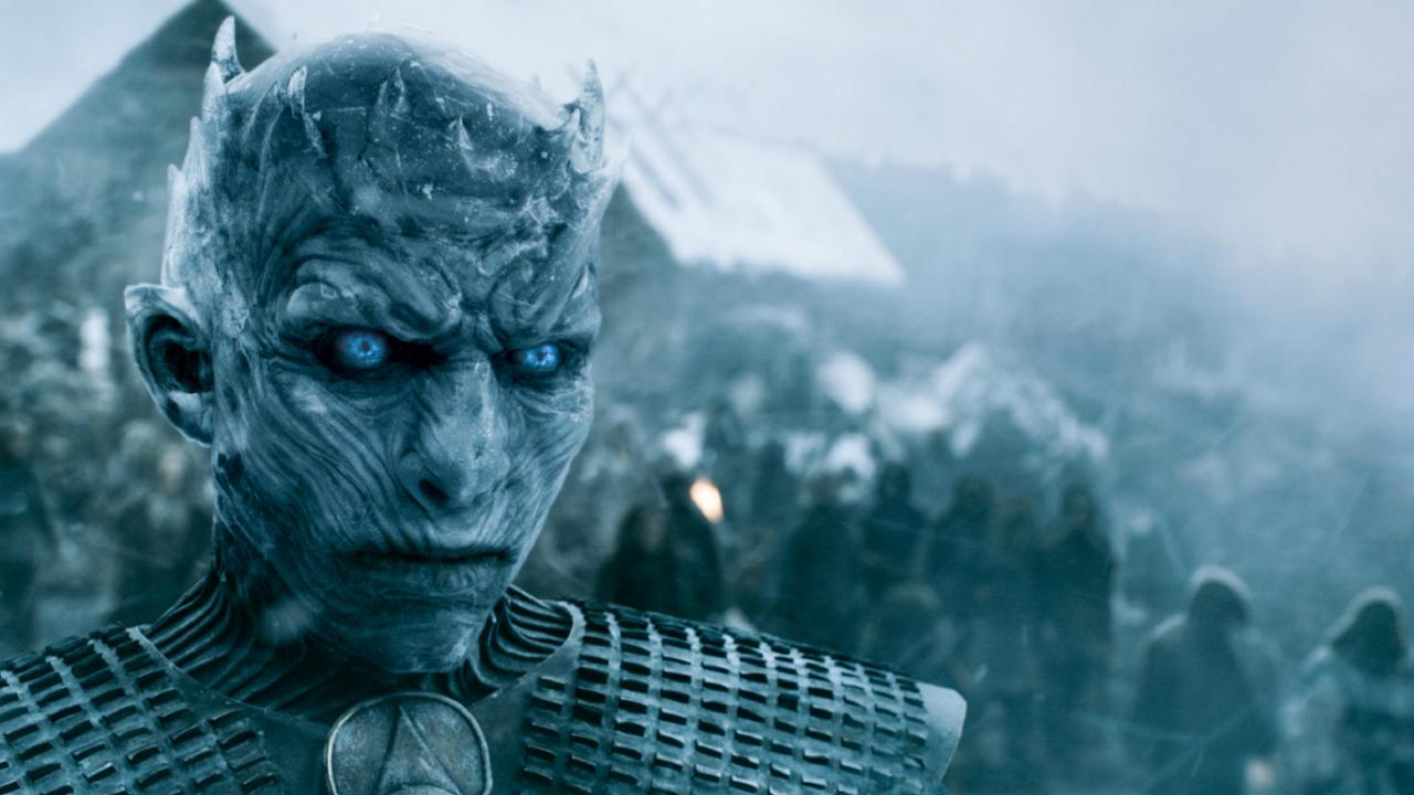 The Night King in a scene from Game of Thrones. Picture: HBO