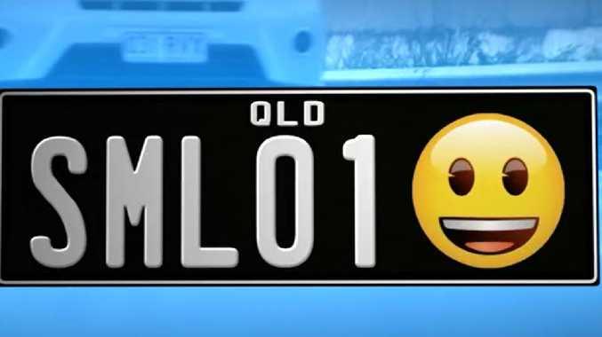 Queensland drivers set to get emoji number plates.