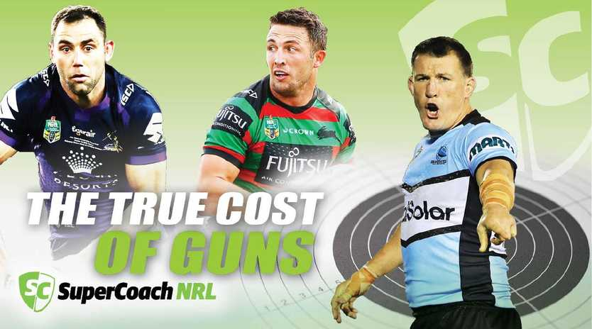 Premium priced SuperCoach guns come with a known reward but hidden cost.