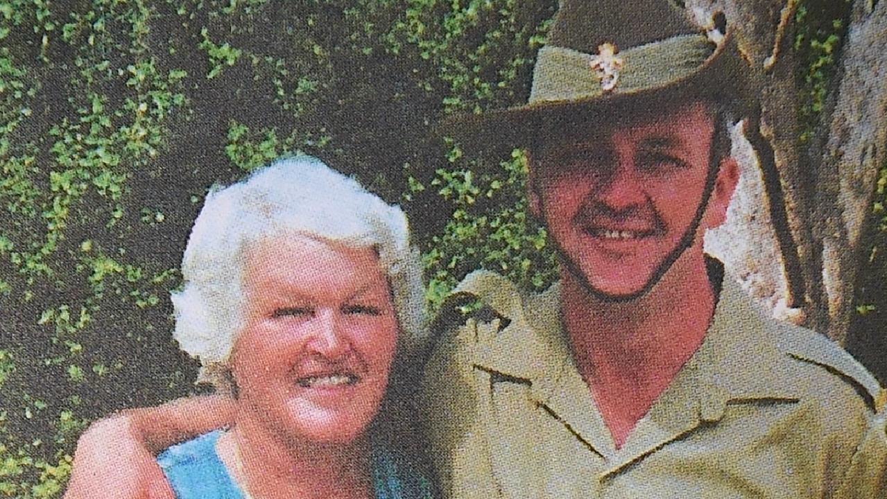Mary Lockhart and her son Greg Holmes were killed by their deranged neighbour.