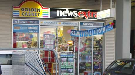 The winning ticket was sold at News Extra Coomera.