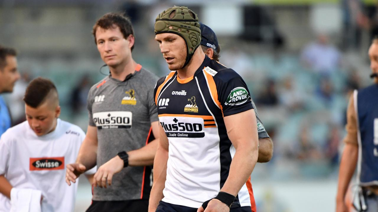 David Pocock will likely miss the Brumbies' home clash against the Chiefs on Saturday. Picture: Mick Tsikas/AAP