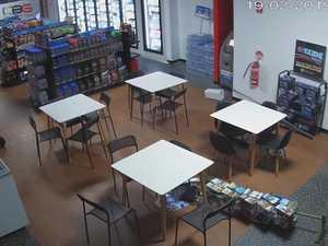 Botched servo robbery