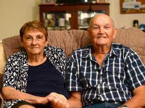 Wayne and Jean Roberts' 60th wedding anniversary.
