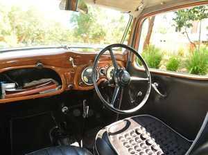 Stuart Edwards's 1938 Austin 10.