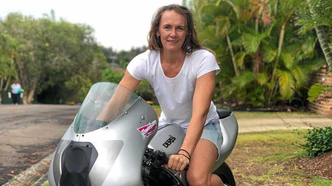 SPEEDSTER: Joanne Fysh is off to Lake Gairdner for Speed Week.