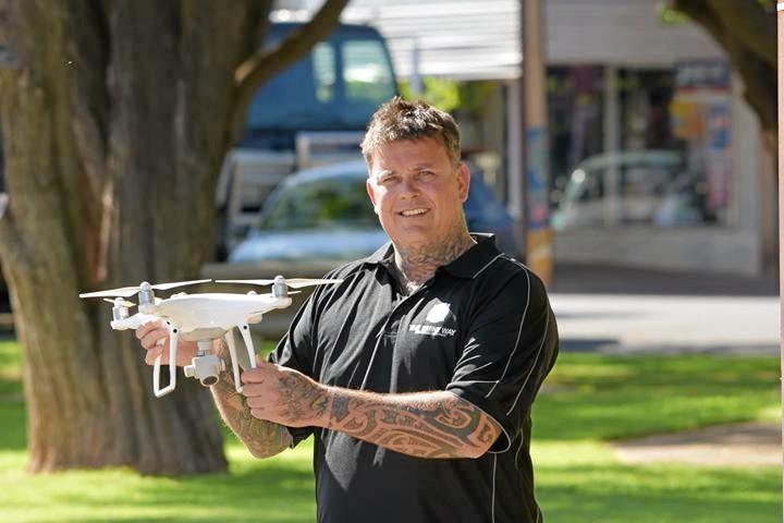 Drone photographer Ben Stamatovich.
