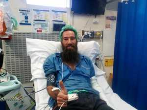 Wounded snake catcher's plea to upgrade hospital facilities