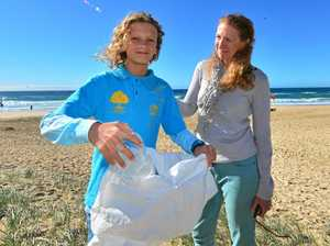 Waste warrior's mission to keep beaches clean