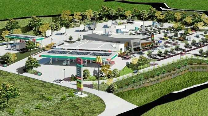 First glimpse at new Gympie 'mega servo'