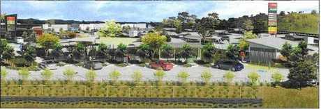 Concept plan of the service centre.