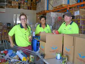 Drought Angels head north for flood victims
