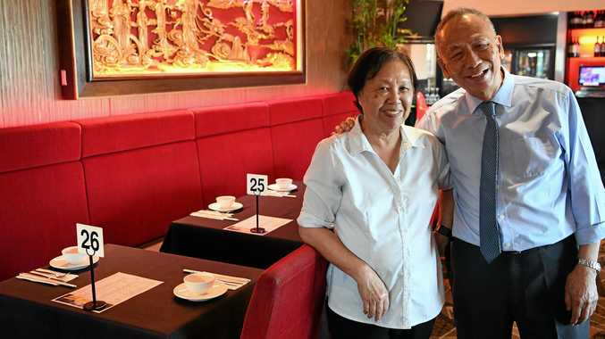 RUNNER UP: White China's Mary and Peter Ho celebrate the WotIf peoples choice 2019 Uniquely Aussie Awards for Best Regional Chinese Restaurant.