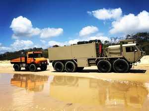 Engines rev for return of Big Boys Toys event at Forest Glen