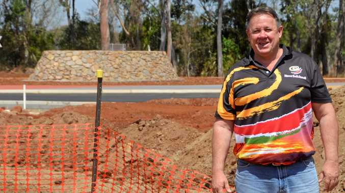 WORKING: South Burnett Regional Councillor Gavin Jones said the council was well on the way to delivering on roads promises.