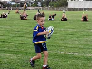 Is this Gympie's cutest union player?