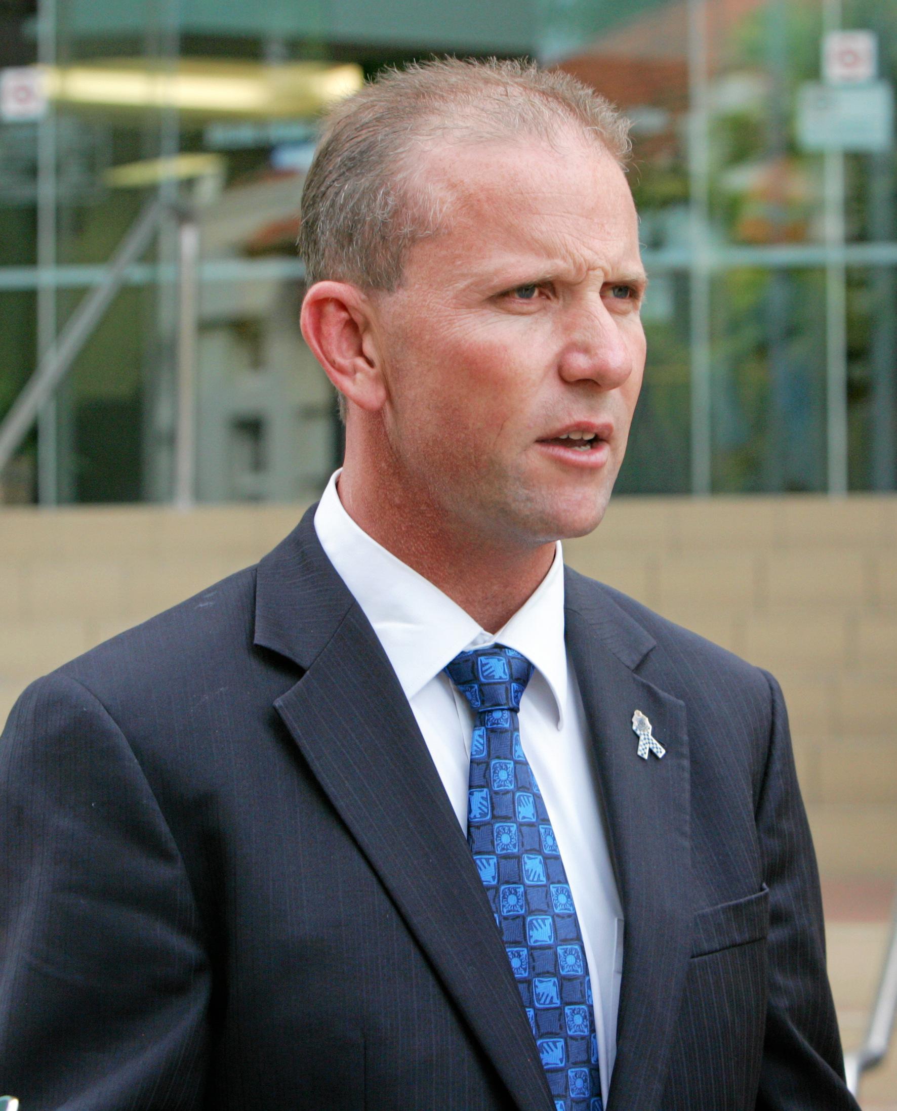 Ian Leavers, Queensland Police Union.