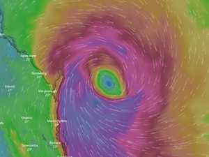 Cyclone's sudden lurch towards major cities