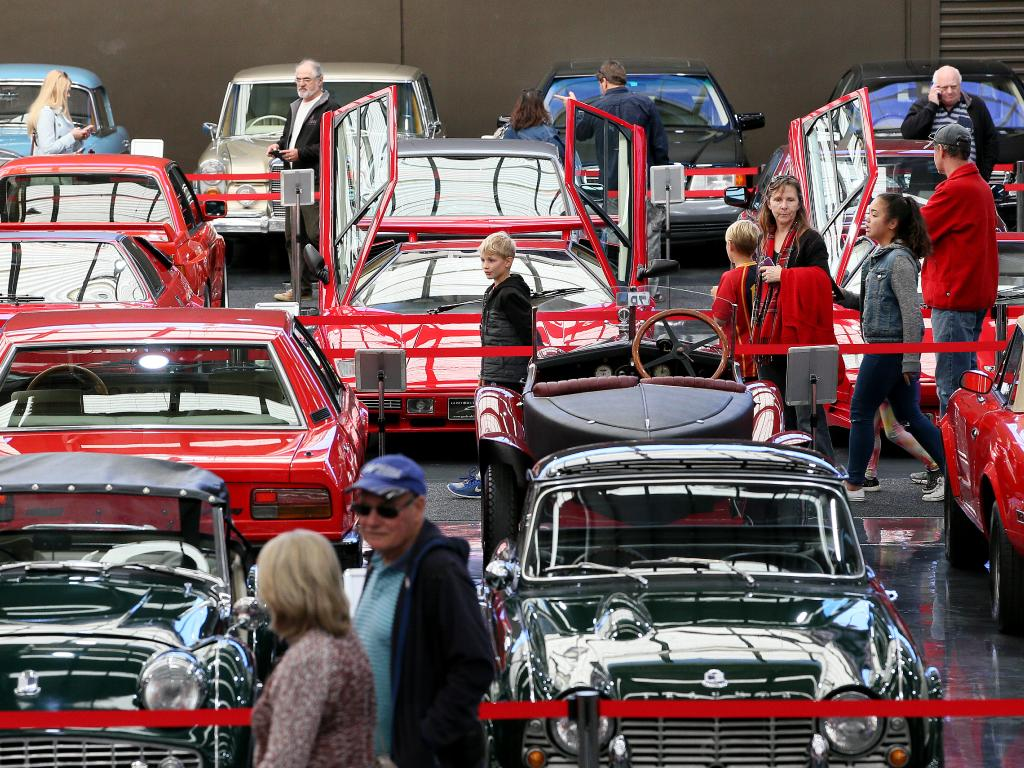 The car museum was a hit with locals and visitors. Picture: Troy Snook