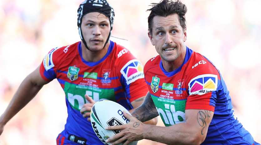 Newcastle are ready to stake their future on Pearce and Ponga. Photo: Brett Costello