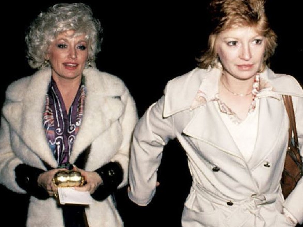 Dolly Parton and her best friend Judy Ogle, who have known each other since they were children. Picture: Supplied