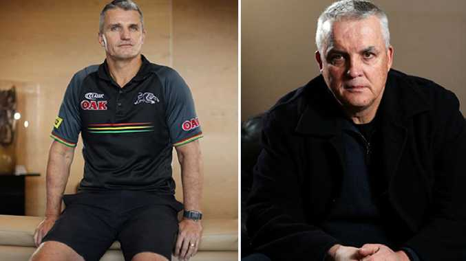 Ivan Cleary and Anthony Griffin.