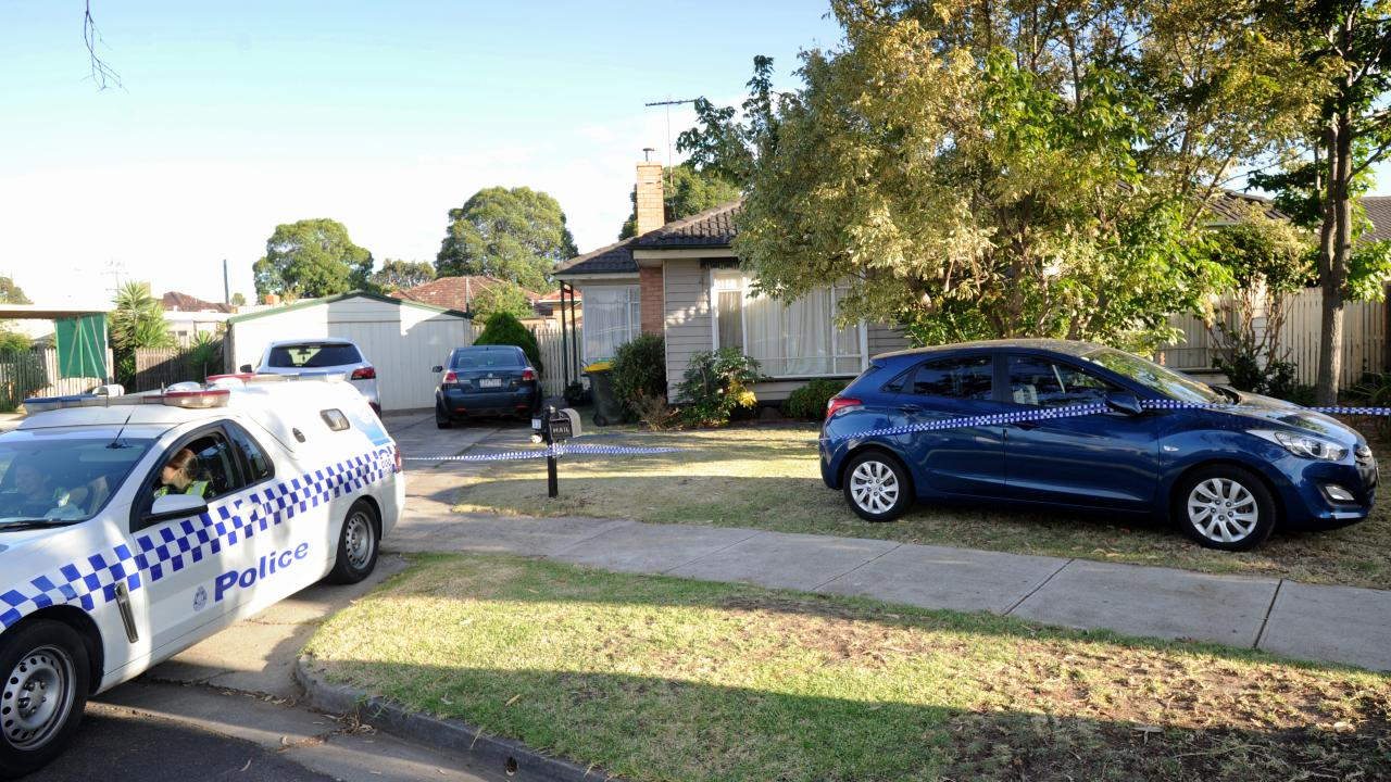 Police removed evidence from an address in western Melbourne and from Ms Farrell's property in Ballarat. Picture: Andrew Henshaw