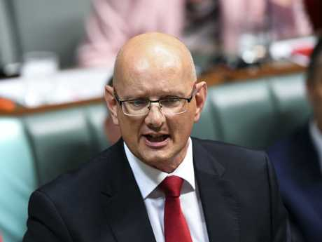 Federal Member of Parliament for Blair, Shayne Neumann, points the finger at the LNP.
