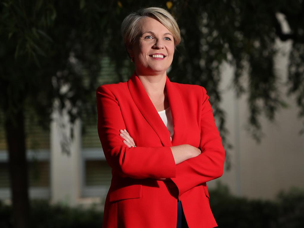 Deputy Opposition Leader Tanya Plibersek has accused Adani of promoting fake jobs. Picture: Kym Smith