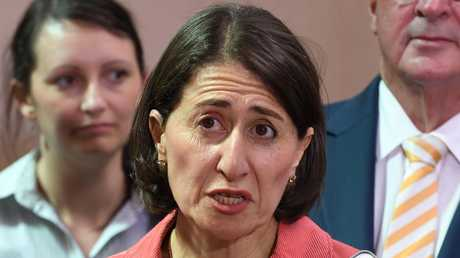 Gladys Berejiklian is being targeted over her stance on pill testing. Picture: AAP /Dean Lewins