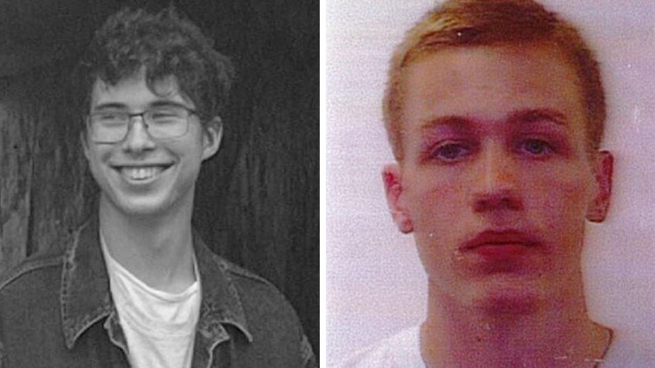 Authorities are searching for French tourist Erwan Ferrieux, 20, and British tourist Hugo Palmer, 20, who have gone missing at a beach near Port Macquarie on NSW's mid-north coast. Picture: AAP Image/NSW Police