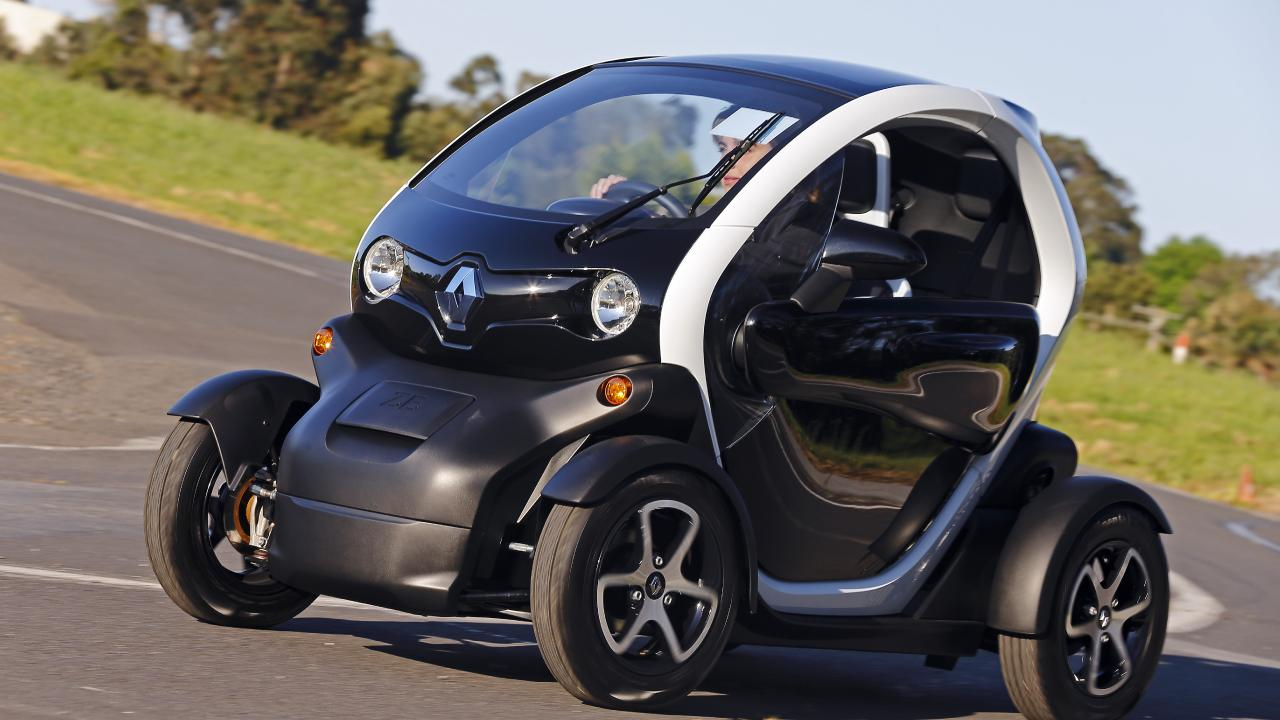 The Renault Twizy is the most well known electric quadricycle in production.