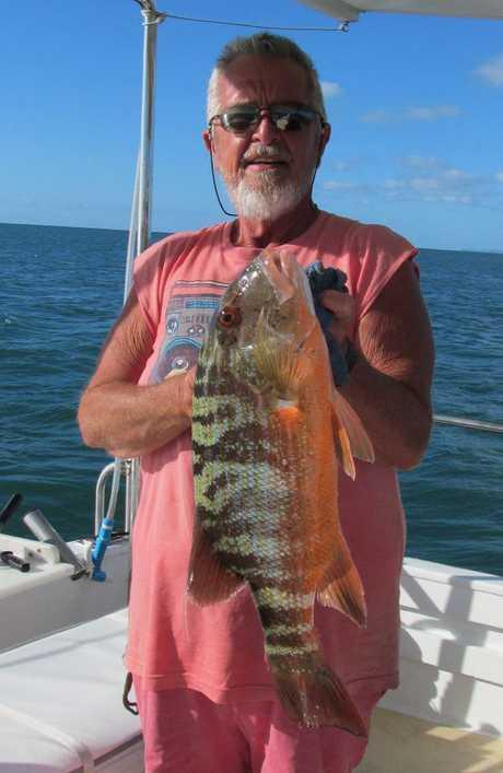 Moreton Bay fisherman Spero Kartanos.