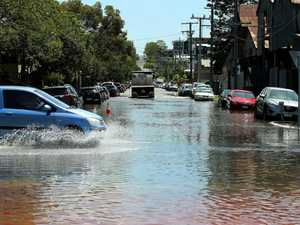 King tide floods city suburbs