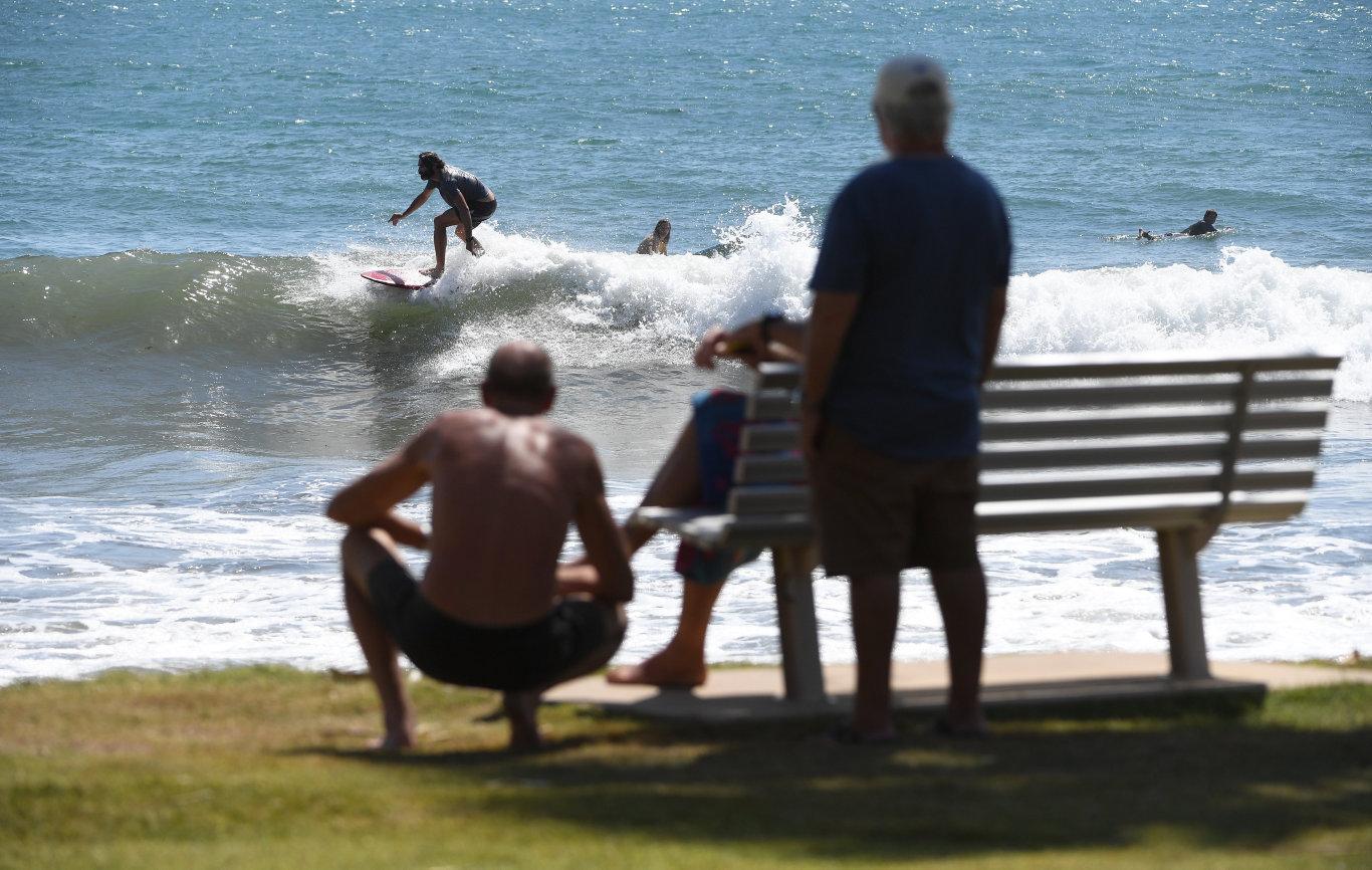 SURFING: Nielson Park Beach Bargara