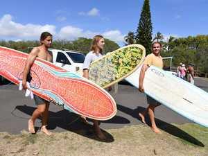 SURFING: Boaz Bragg, Ethan Baldry and Denis Kovacs