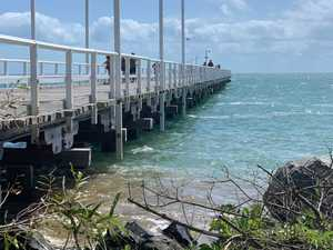 PHOTO GALLERY: Monster tides almost swallows Urangan pier